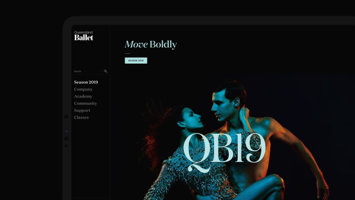 Queensland Ballet Website